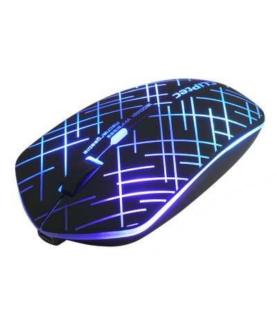CLiPtec 2.4Ghz 1600dpi Illuminated Rechargeable Wireless Mouse M110