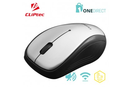 CLiPtec 2.4Ghz 1200dpi Wireless Silent Mouse M156