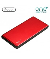 Recci Mobile Power Bank 10000mAh - Fashion