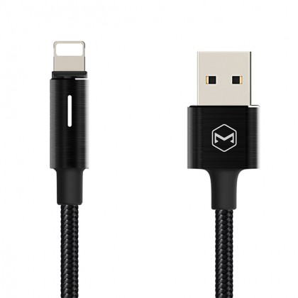 Mcdodo Auto Disconnect & Recharge Lightning Cable With LED Light 1.2M - CA460