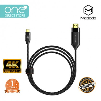 Mcdodo 4K Type-C To HDMI Cable 2M- CA588