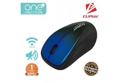 CLiPtec XILENT II 2.4Ghz 1200dpi Wireless Silent Mouse RZS856s
