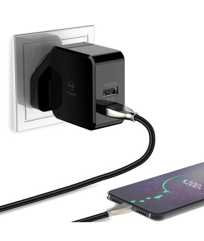 Mcdodo Huawei Super Charge 5A Wall Charger (UK Plug) (QC3.0/FCP/SCP/AFC) - CA613