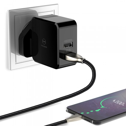 Mcdodo Huawei Super Charge 5A Wall Charger (UK Plug) (QC3.0/FCP/SCP/AFC) - CH613