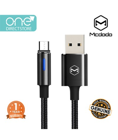 Mcdodo Auto Disconnect & Recharge Micro USB Cable 1M - CA616