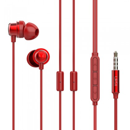 UiiSii Hybrid Balanced Armature & Dynamic Driver With Double Microphone Hi-Res Audio In-Ear Earphone - K8