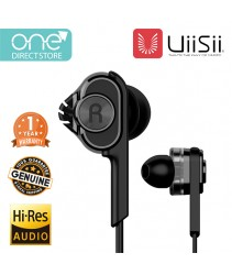 UiiSii Dual Dynamic Drivers Earphone - BA_T6