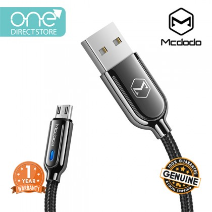 Mcdodo Smart Series Auto Disconnect & Recharge Micro USB Cable 1M - CA620