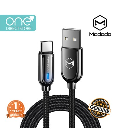 Mcdodo Smart Series Auto Disconnect & Recharge Type-C Cable 1M -CA619