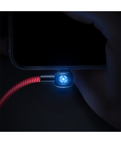 Mcdodo Woodpecker Series 90 Degree Auto Disconnect Lightning Cable 1.2M - CA579