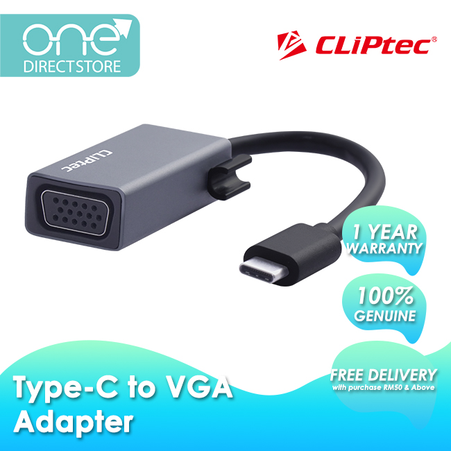 CLiPtec Type-C To VGA Adapter OCD650