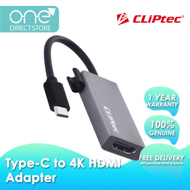 CLiPtec Type-C to 4K HDMI Adapter OCD651