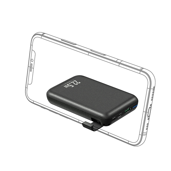 Mcdodo 10000mAh 22.5W (PD/QC3.0/SCP/FCP/AFC/VOOC) Mini Power Bank With Holder Function MC564