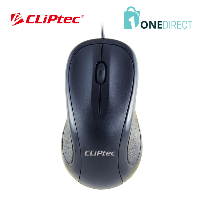 CLiPtec SCROLL MAX 1000dpi Optical Mouse-RZS950 (Black)