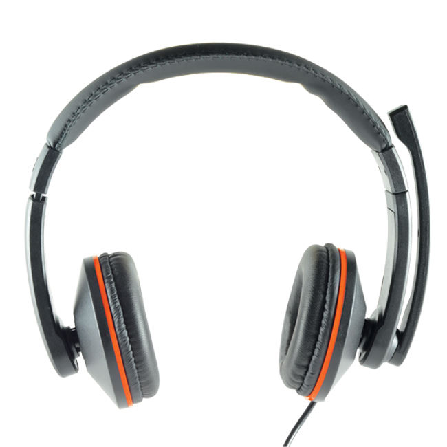 CLiPtec MOBIWAVE Dynamic Stereo Multimedia Headset-BMH519 (Black)