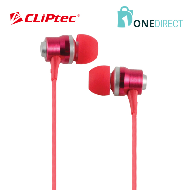 CLiPtec RHYTHM In-Ear Earphone with Mic. and Volume Control BME878