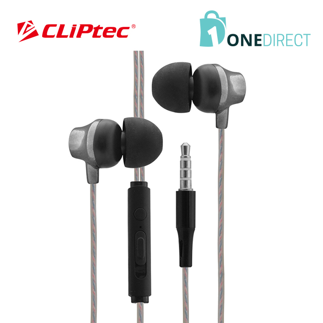 CLiPtec URBAN MUSIC Earphone with Microphone & Volume Control BME626
