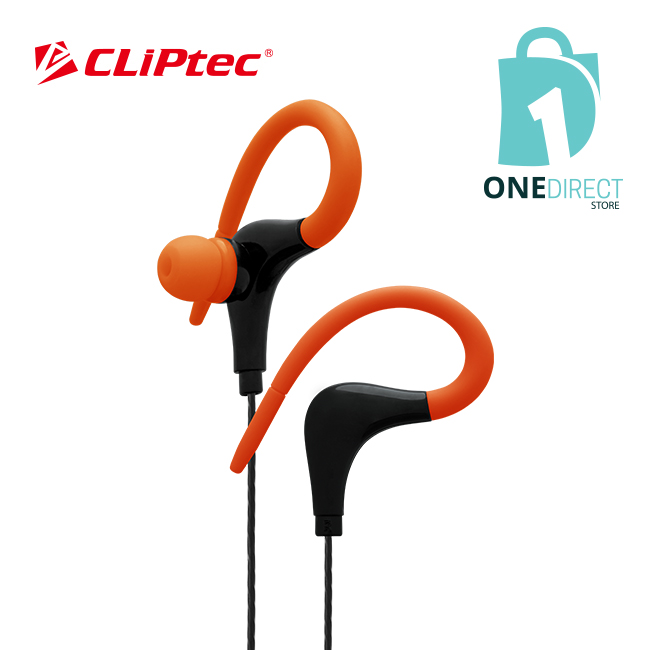 CLiPtec XTION-MAX Sports Secure Fit Earphone with Microphone BSE202