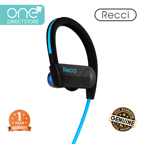 Recci Bluetooth 4.0 Wireless Earphone with Mic - Impulse REB A01