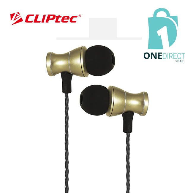 CLiPtec MAGNETUCA Magnetic Metal In-Ear Earphone BME801