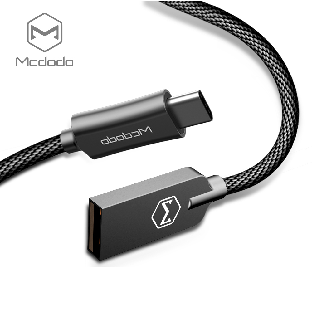 Mcdodo 2A QC3.0 Fast Charging USB to Type-C Data Cable 1M - CA439