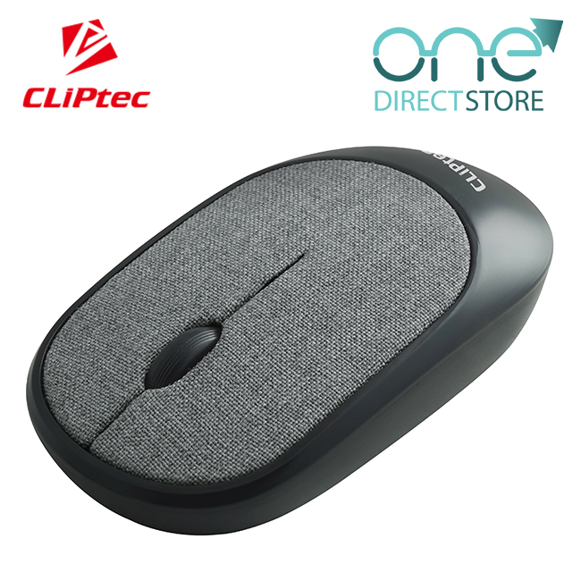 CLiPtec FABRIC XILENT 2.4Ghz Wireless Fabric Silent Mouse RZS855