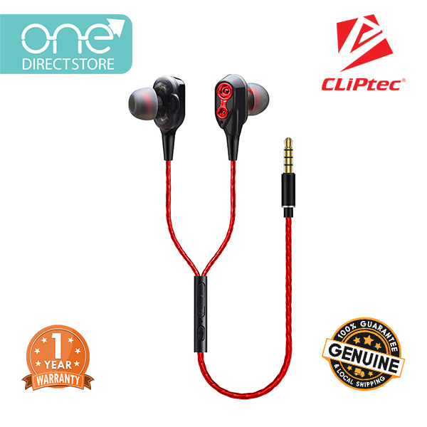 CLiPtec 2SOUL Dual Dynamic Drivers In-Ear Earphones BME820