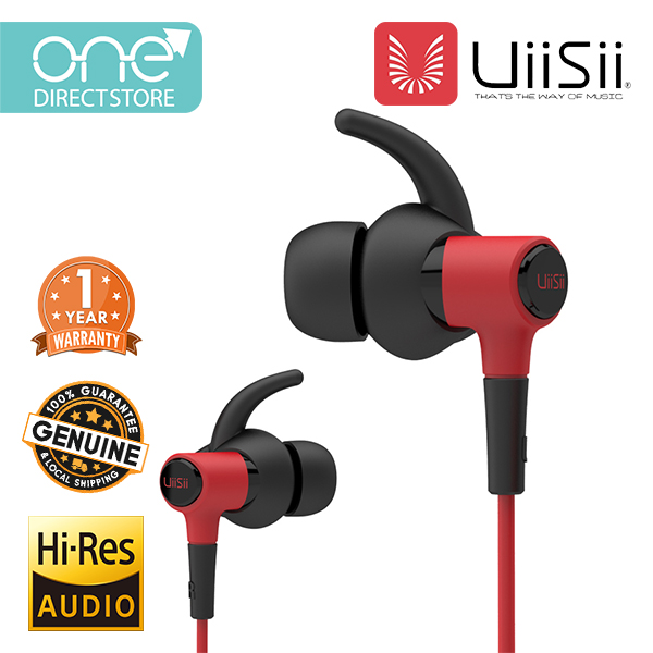 UiiSii IPX4 Sport In-Ear Earphone With Mic & Stereo Bass - HI_710